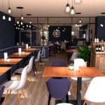 rendus 3D restaurant